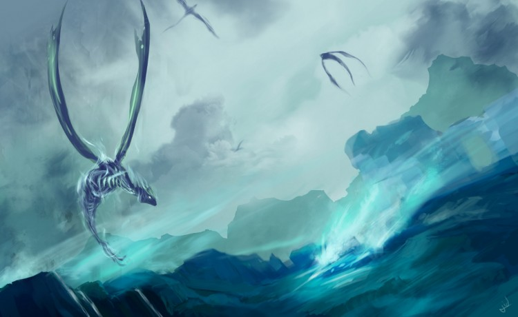 Wallpapers Digital Art Dragons Wallpaper N°274200