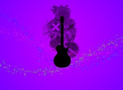 Wallpapers Digital Art Guitare du printemps