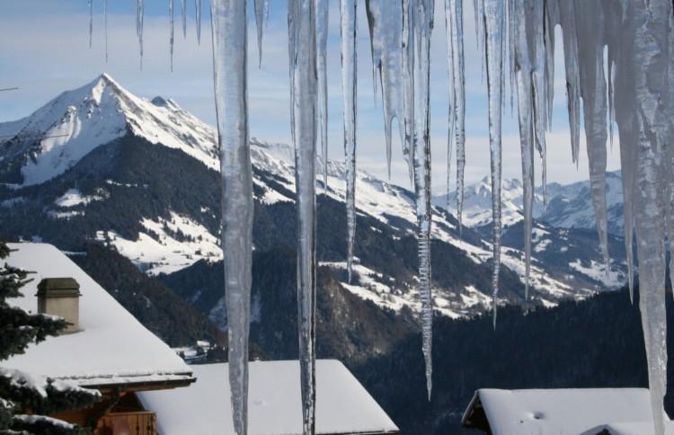 Wallpapers Nature Saisons - Winter paysage glacé