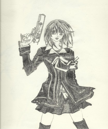 Fonds d'écran Art - Crayon Manga - Vampire Knigt YUUKI