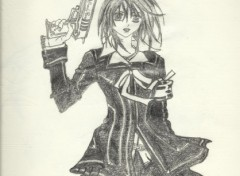 Fonds d'écran Art - Crayon YUUKI