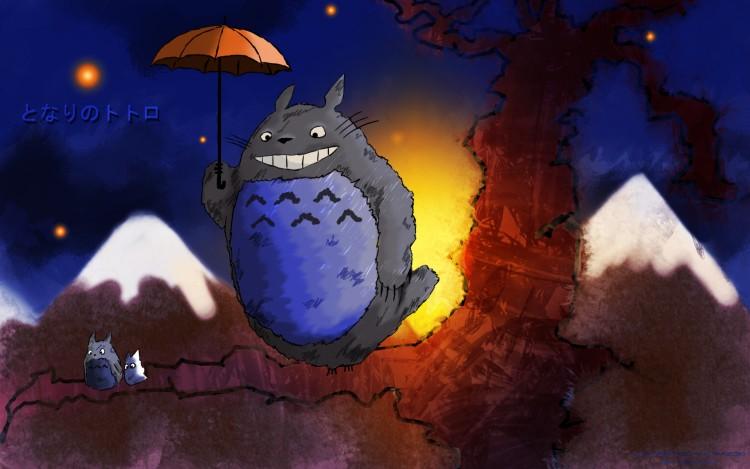 Wallpapers Cartoons My Neighbor Totoro Tonari no Totoro