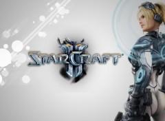 Fonds d'écran Jeux Vidéo Starcraft 2 Ghost