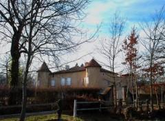 Fonds d'écran Constructions et architecture chateau Montrouge a Savigneux ,Loire 42