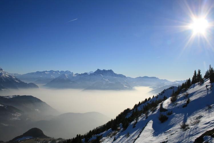 Fonds d'écran Nature Montagnes Dents du Midi