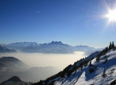 Wallpapers Nature Dents du Midi