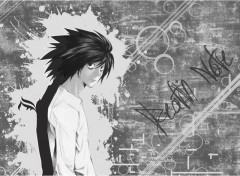 Wallpapers Manga L - Death Note