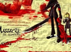 Fonds d'écran Art - Numérique Massacre :-)