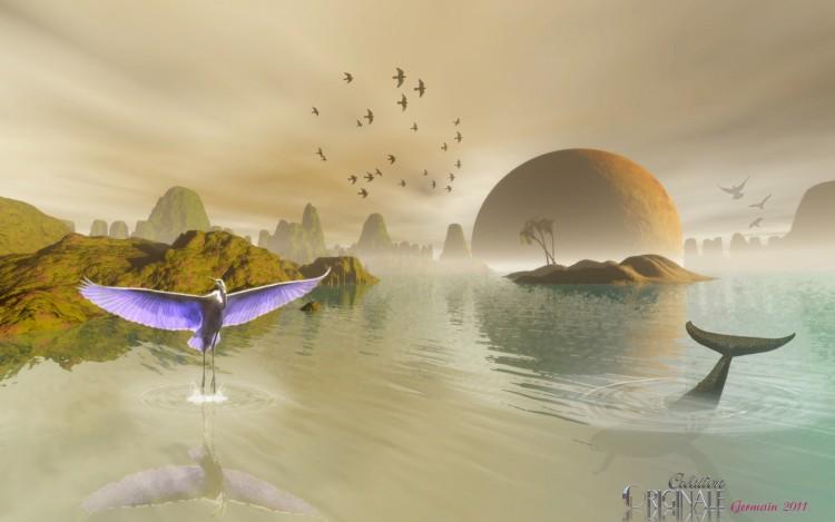 Wallpapers Digital Art 3D - Bryce Réserve Naturel