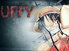 Fonds d'écran Manga Luffy - Je deviendrais le Seigneur des pirates