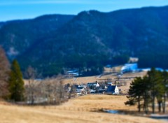 Fonds d'écran Nature Village de montagne