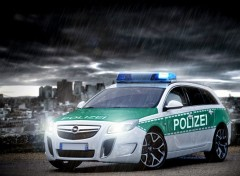 Wallpapers Cars insignia opel polizei 2
