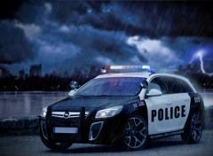 Wallpapers Cars insignia opel police NY2