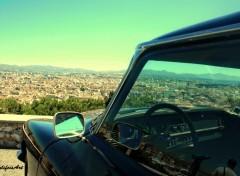 Fonds d'écran Voitures voiture vue de marseille