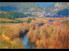 Wallpapers Trips : Europ Village de Roquebrun..