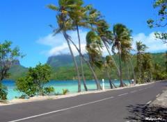 Fonds d'écran Voyages : Océanie Vent à Bora Bora