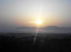 Fonds d'écran Voyages : Europe Lever de soleil depuis E801 ( portugal )