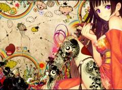 Fonds d'écran Art - Numérique Live life in colors !