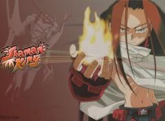 Fonds d'écran Manga Hao - Shaman King