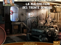Wallpapers Video Games Blake et Mortimer Wall 004