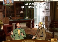 Wallpapers Video Games Blake et Mortimer Wall 008