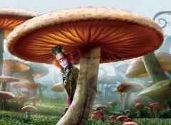 Fonds d'écran Cinéma Alice au pays des merveilles