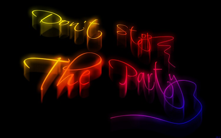Wallpapers Digital Art Abstract Don't stop the party