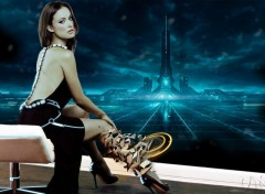 Wallpapers Celebrities Women olivia wilde tron