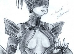 Wallpapers Art - Pencil Drow - Lineage