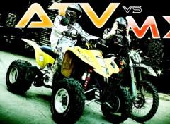 Wallpapers Motorbikes atv vs mx