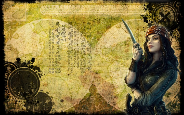 Wallpapers Fantasy and Science Fiction Pirates Eroic 13