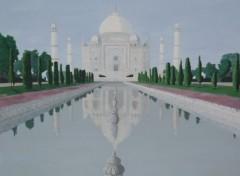 Fonds d'écran Art - Peinture TAJ MAHAL