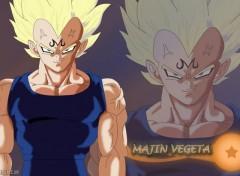 Fonds d'écran Manga Majin Vegeta
