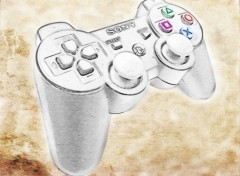 Wallpapers Video Games Manette PS3