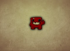Wallpapers Video Games Super Meat Boy - Okeeyy