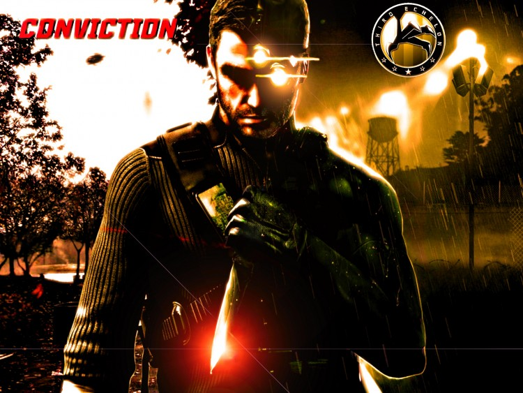 Fonds d'écran Jeux Vidéo Splinter Cell : Conviction double face Of Sam Fisher.