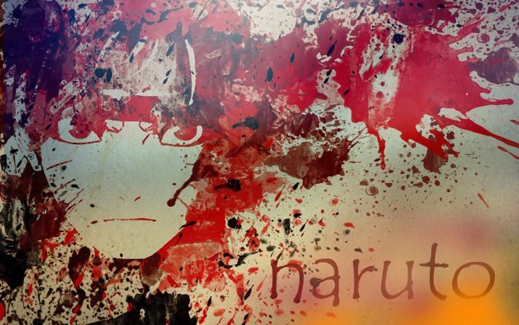 Fonds d'écran Manga Naruto éclaboussure NARUTO