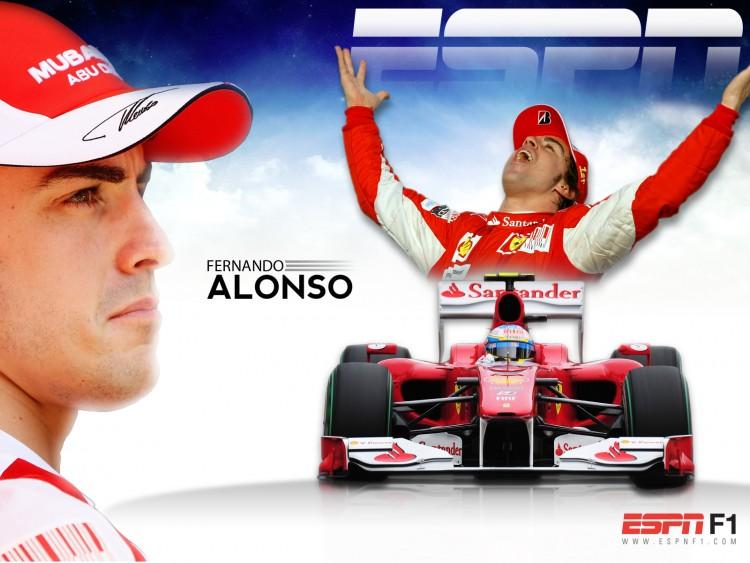 Fonds d'écran Sports - Loisirs Formule 1 Fernando ALONSO - SAISON 2011