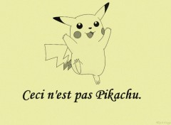 Wallpapers Video Games Ceci n'est pas Pikachu .