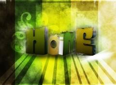 Fonds d'écran Art - Numérique Home 2.0