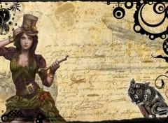 Fonds d'écran Fantasy et Science Fiction SteamPunk 1