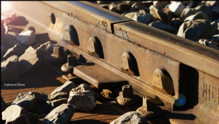 Fonds d'écran Constructions et architecture Gares - Rails rails chemin de fer