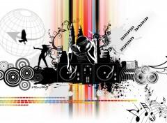 Fonds d'écran Art - Numérique Musique