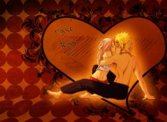 Wallpapers Manga First Kiss
