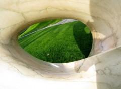 Fonds d'écran Objets trou dans un c½ur en marbre