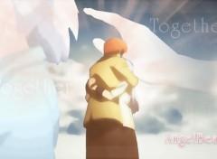 Fonds d'écran Manga [Nardoum] Angel Beats Together