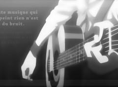 Fonds d'écran Manga [Nardoum] Angel Beats Guitare 3