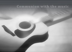 Fonds d'écran Manga [Nardoum] Angel Beats Guitare 4