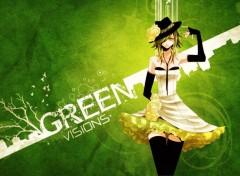 Fonds d'écran Art - Numérique green