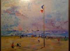 Wallpapers Art - Painting La plage